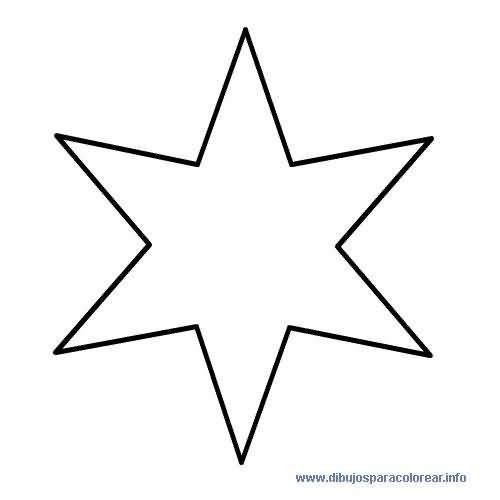 Estrella 6 Puntas Patterns Star Pinterest Printables
