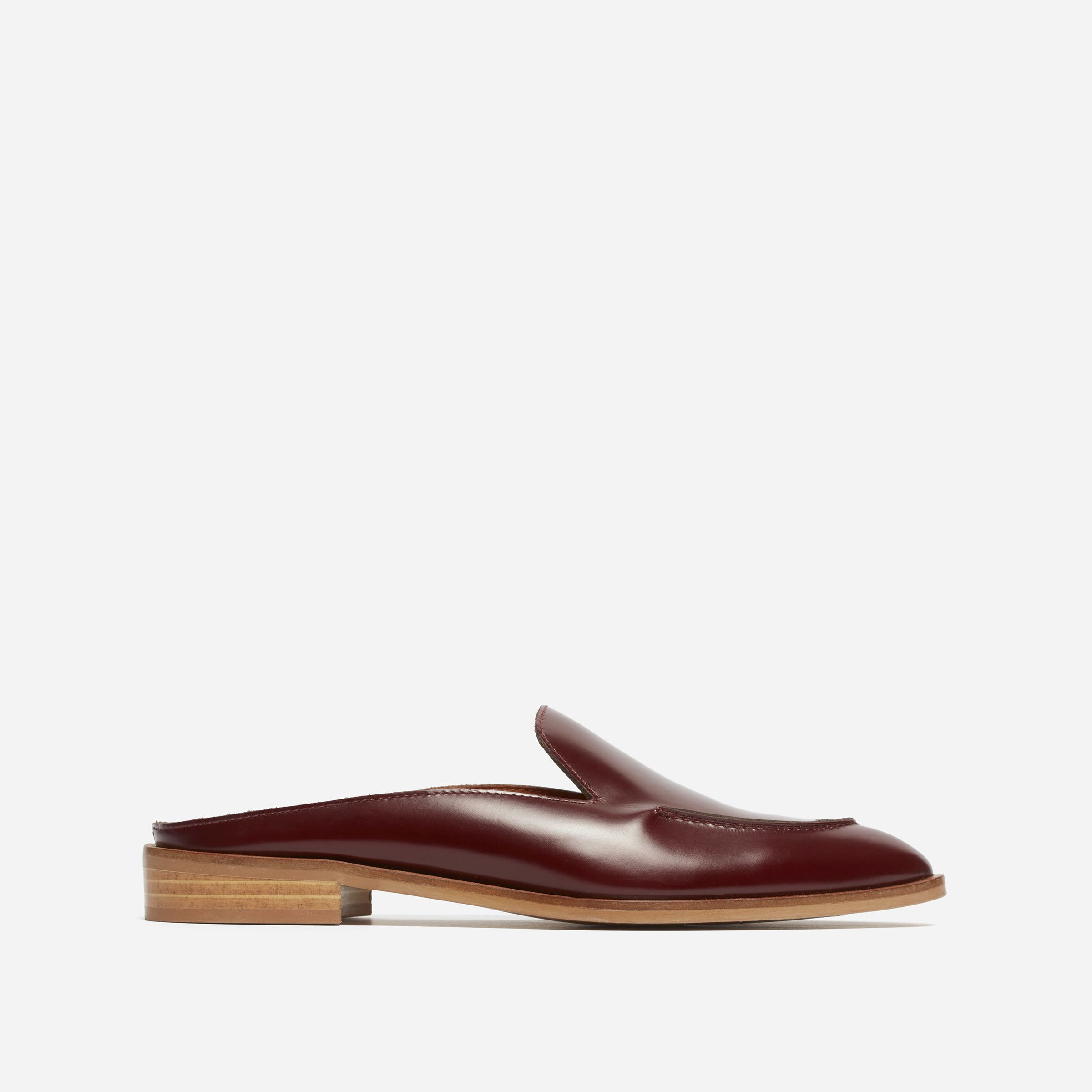 875917ab030 An easier loafer. We took our best-selling Modern Loafer and updated it in  a backless mule shape. All the polish of a classic loafer