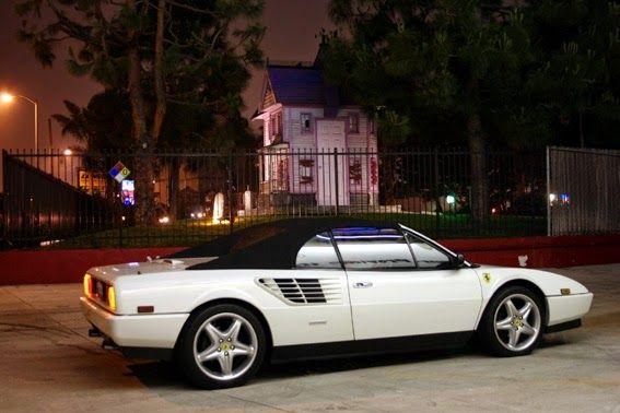 White+Ferrari+Mondial -Nicole had a car Just like this ...