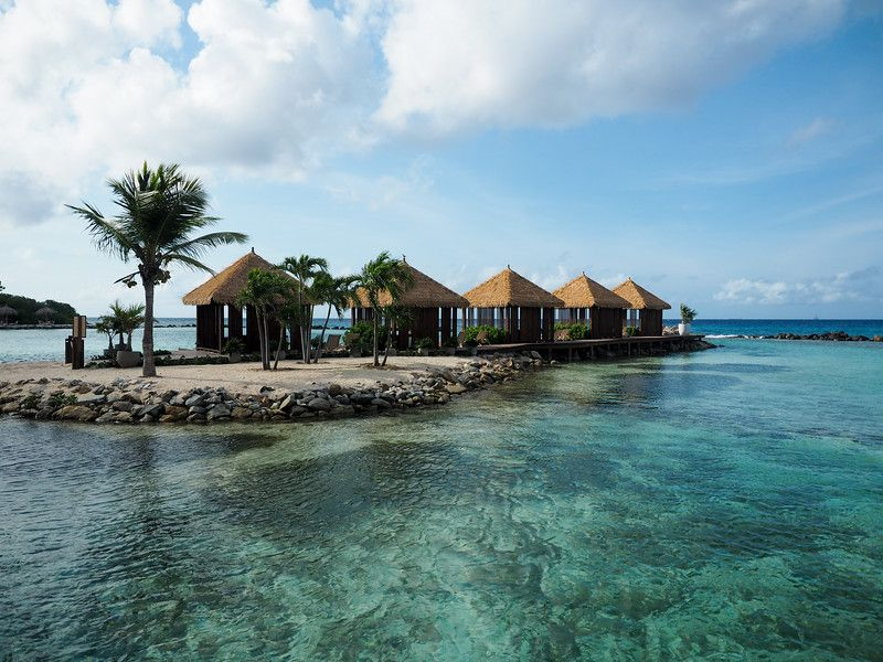 Flamingos, Beaches, and Private Cabanas Staying at the