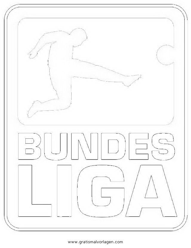 fußball ausmalbilder bundesliga 06 | World Of Football | Pinterest