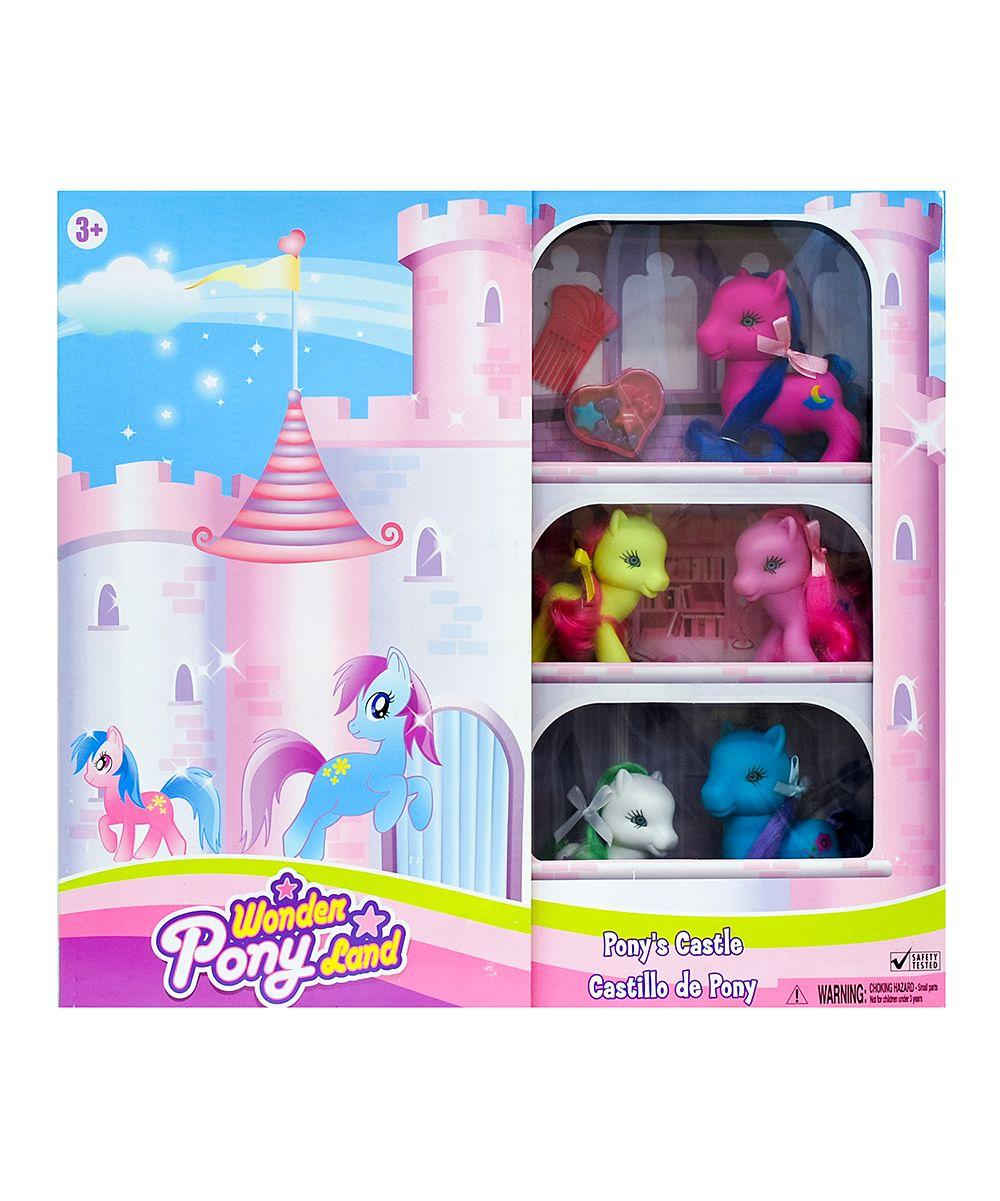 Wonder Pony Land Castle Toy Set