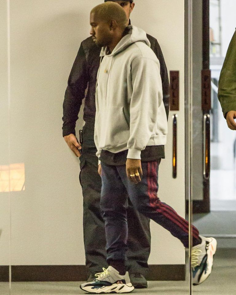 Just after an intruder was reported at Kanye s Yeezy HQ in Calabasas eaf32ef07