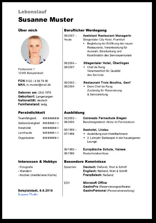 lebenslauf tabellarisch grau modern word vorlage cover - Word Vorlage Lebenslauf