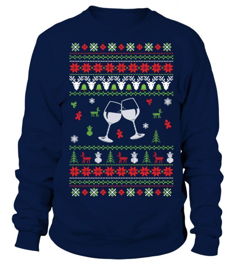 the latest 7ef30 8c7ad T-shirt bedrucken oktoberfest wine christmas jumper ...