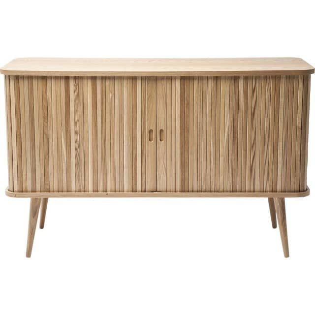 Retro sideboard massivholz kommode hollola mit schiebet ren vintagehaus 699 120 breit - Badezimmer sideboard ...
