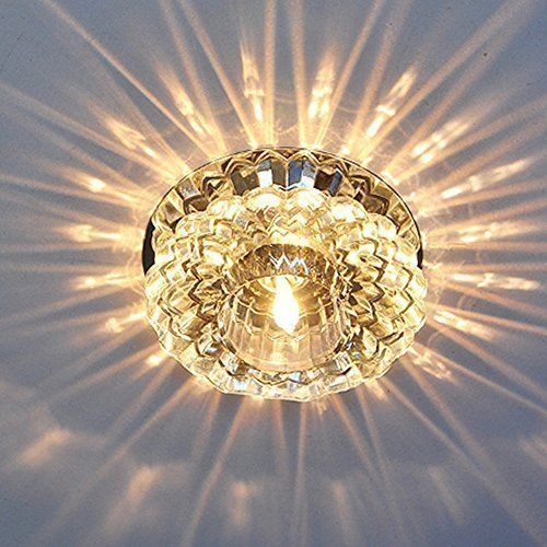 Sunix 5W Modern Hochleistend Kristall LED Deckenlampe Bün