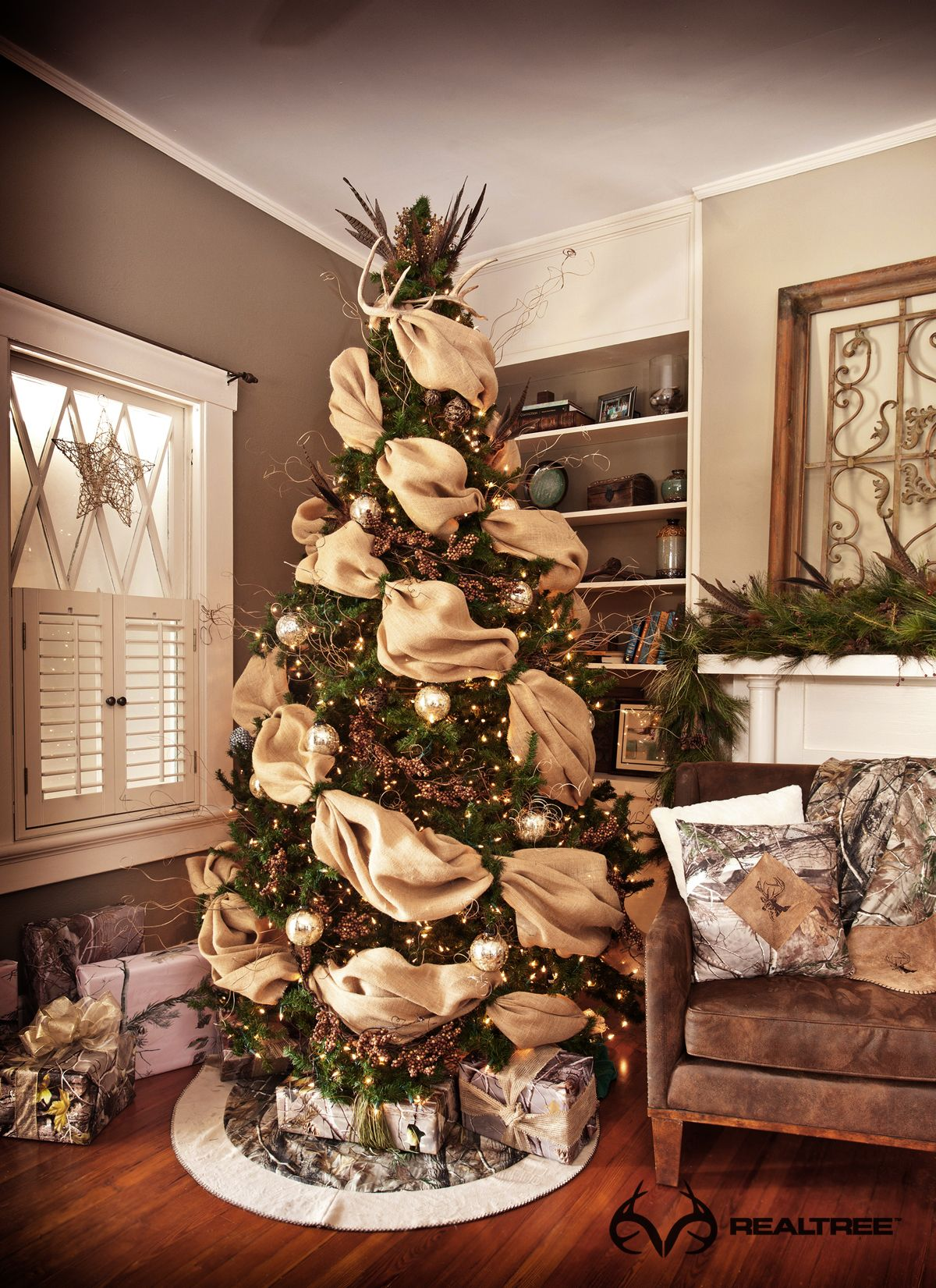 Realtree Camo Holiday Decorating Ideas #Realtreecamo | Camo Holiday ...