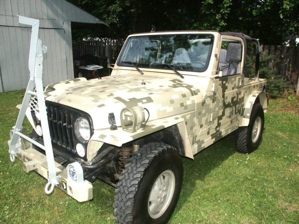 My Digital Camo Flatfendered Tj Page 8 Jeepforum Com