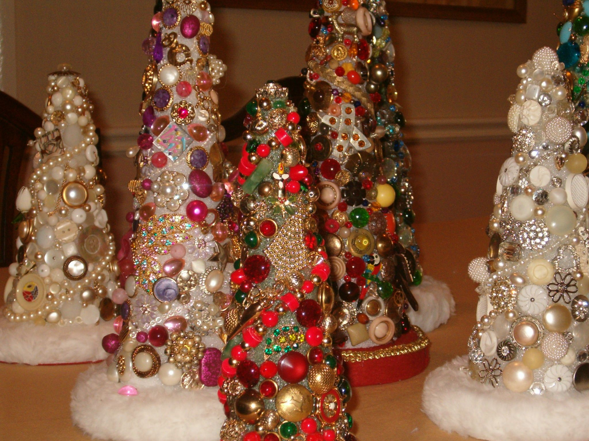 Vintage Jewelry Trees from 2005