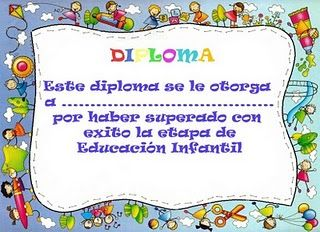 Diplomas Para Educacion Infantil En Color Imprimir Y Descargar Tattoo
