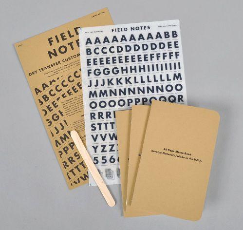 $995 Customizable Transfer Type Blank Memo Books, 3-Pack -D - blank memo