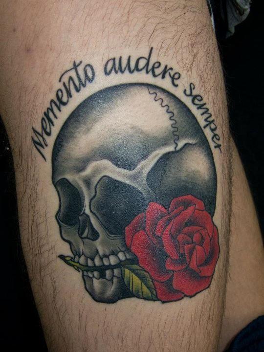 Remember to dare, always - memento audere sempra