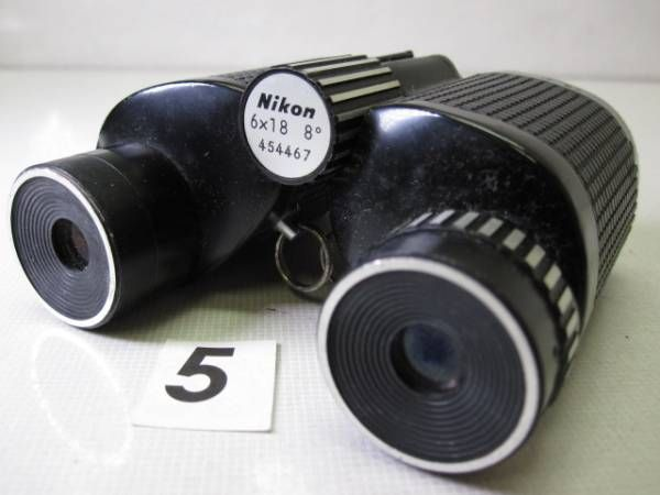 S1302DC ニコン NIKON 双眼鏡 6x18 8°ジャンク_画像1