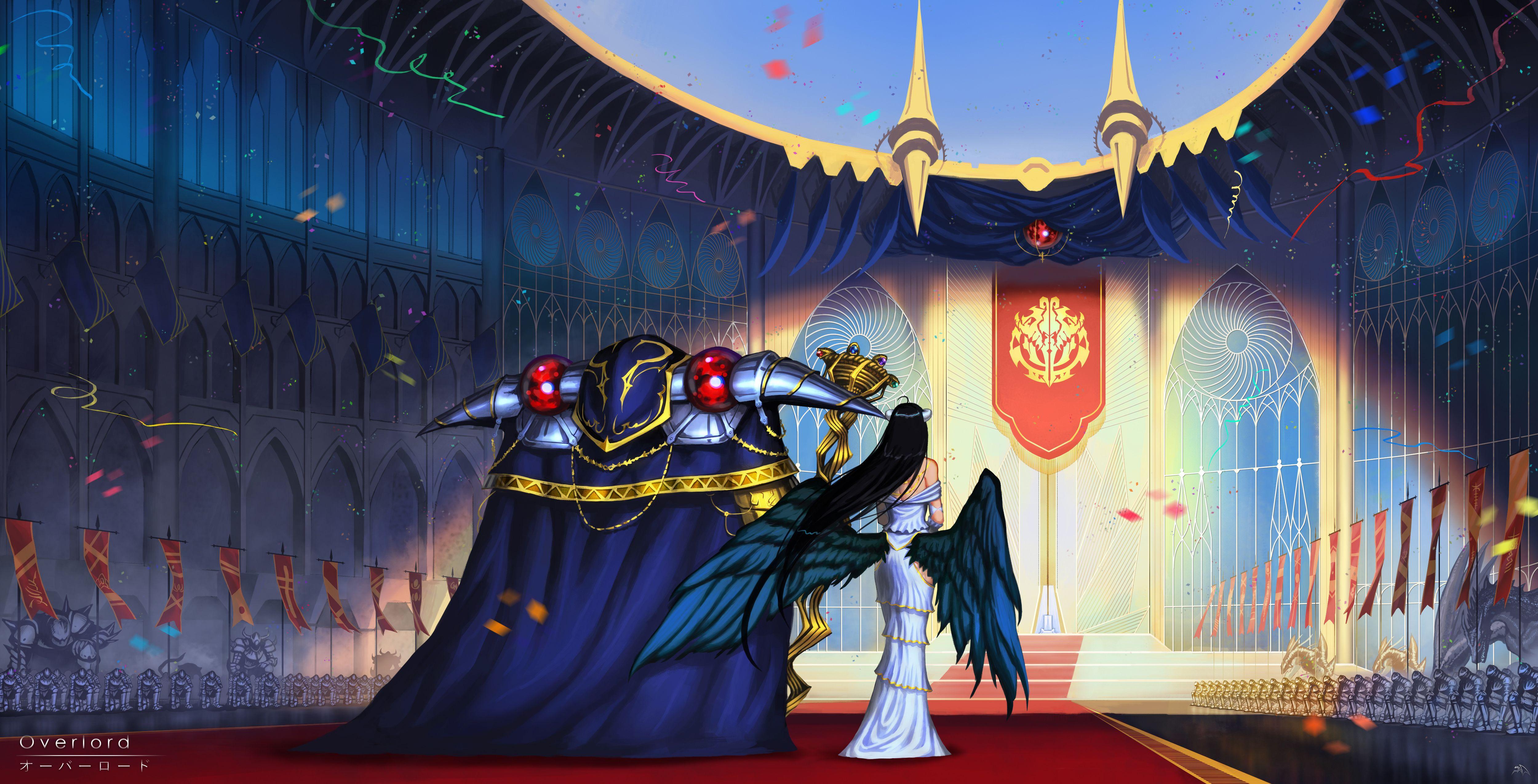 Ultra Hd Overlord Albedo Wallpaper Gambarku