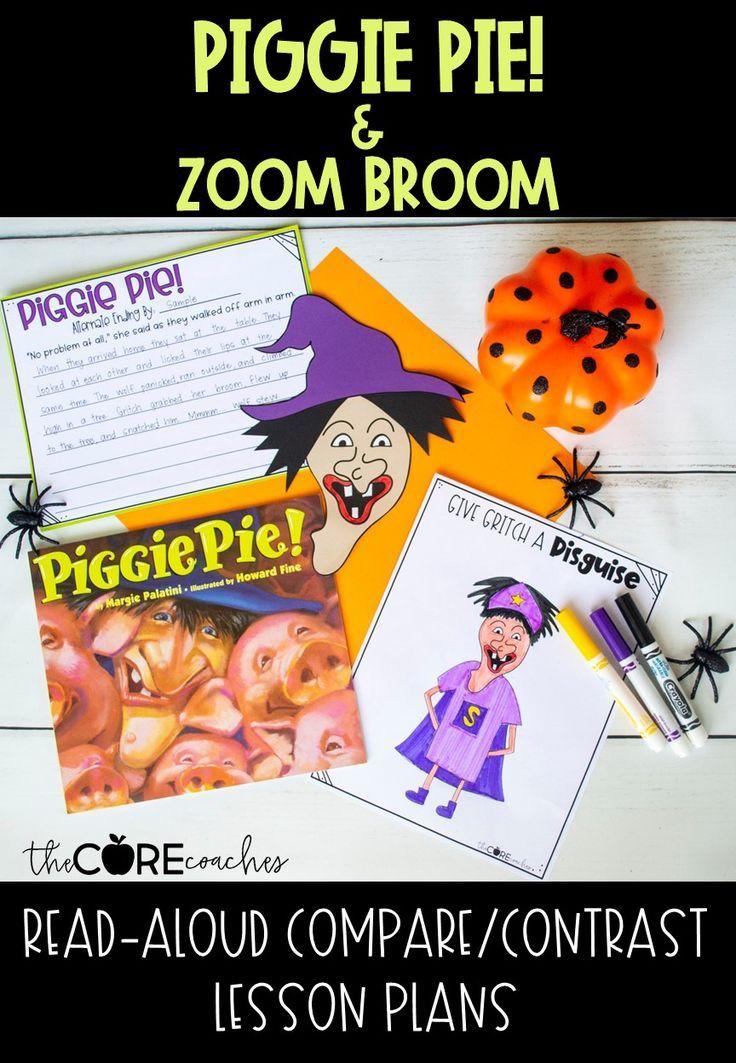 Piggie Pie and Zoom Broom ReadAloud Compare/Contrast
