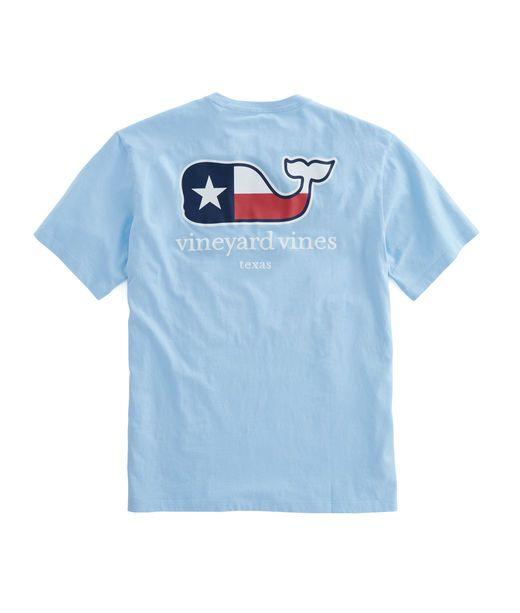 04596ec2a87e8c Texas Flag Whale T-Shirt