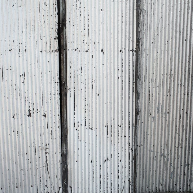 Best Metal Roofing Barn Corrugated Weathered Silver Painted Tin 400 x 300
