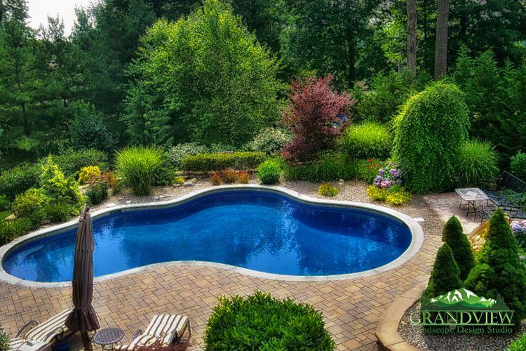 Inground Pool Design Swimming Pool Landscaping Inground Pool Landscaping Landscaping Around Pool
