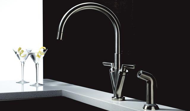Brizo Trevi Lever Kitchen Collection  Brizo  Pinterest  Kitchen Amusing Bathroom Fixtures Denver Design Inspiration