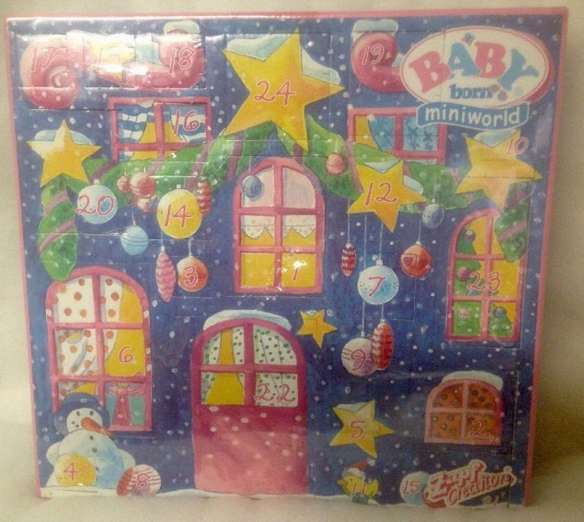 ZAPF CREATIONS BABY BORN MINIWORLD ADVENT CALENDAR VINTAGE 2002 ADVENTSKALENDER in Home & Garden, Holiday & Seasonal Décor, Christmas & Winter | eBay