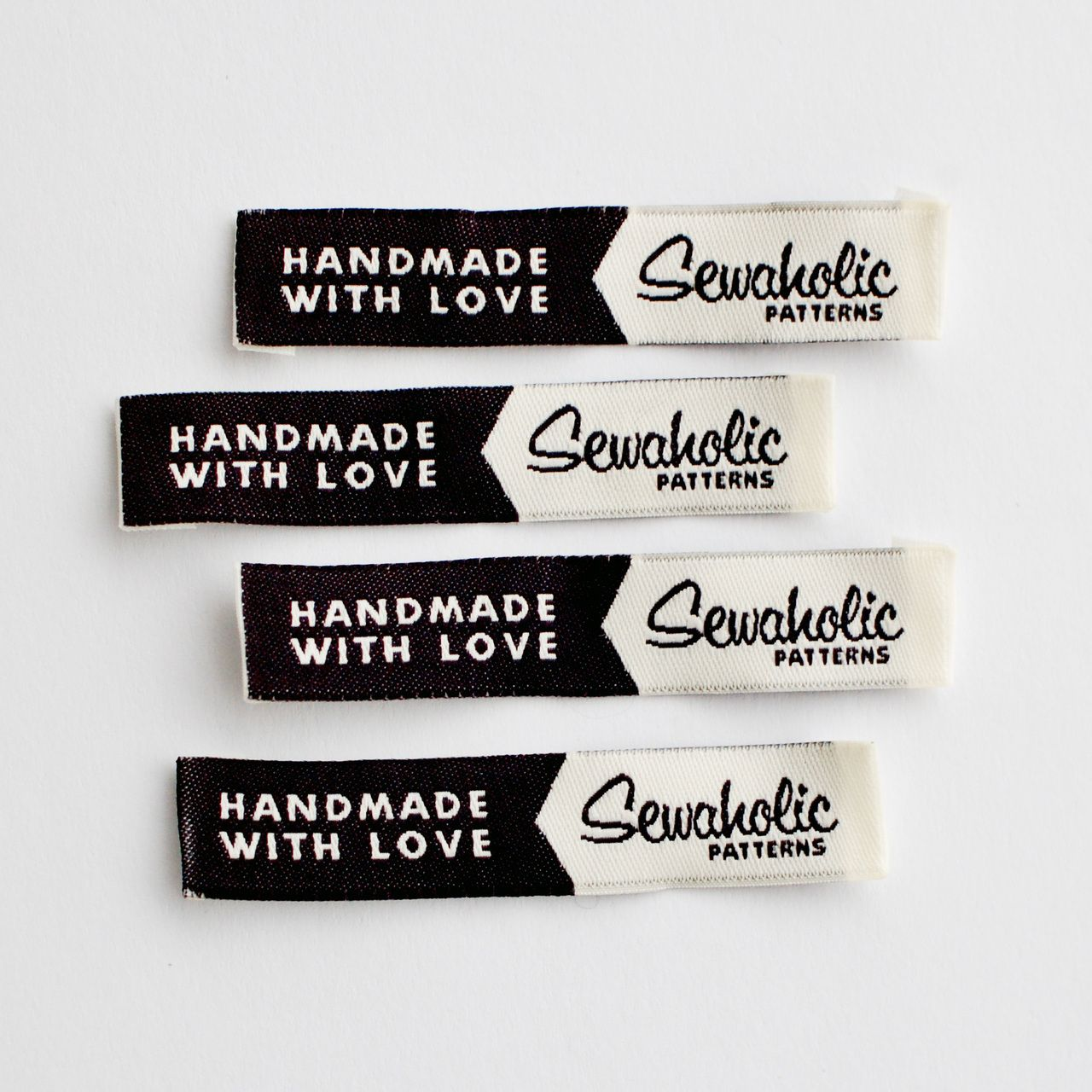 Handmade With Love Sewaholic Woven Clothing Label