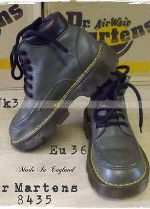 Disponibles ☠ Véritables Dr Martens 8435 cuir lisse gris une alliance  kickers doc martens- série limitée - ce modèle n est plus fabriqué, il  tombe dans le ... 48b669e1a0a2