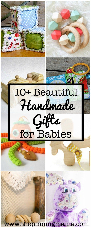 10+ Beautiful Handmade Baby Gifts   Handmade baby, Parents and Babies