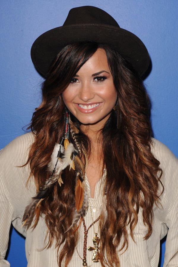 Demi Lovatos Ten Best Hairstyles Demi Lovato Pinterest