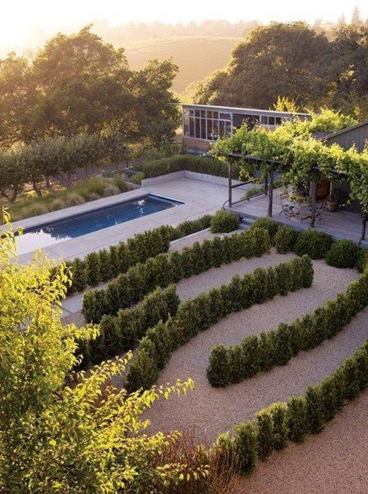 Creative Garden Labyrinth Design Ideas 35 Landscape