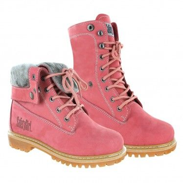 c5bb8594d47 Safety Girl Madison Fold-Down Work Boot - Pink | STEP OUT with the ...