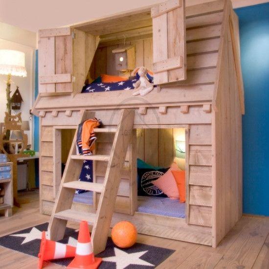 Hochbetten Kinderhochbett Dreamhouse Ein Designerstuck Von