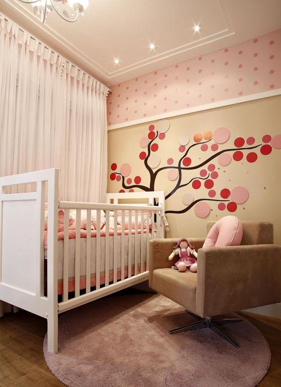 Decoração de quarto de bebê feminino dicas preciosas