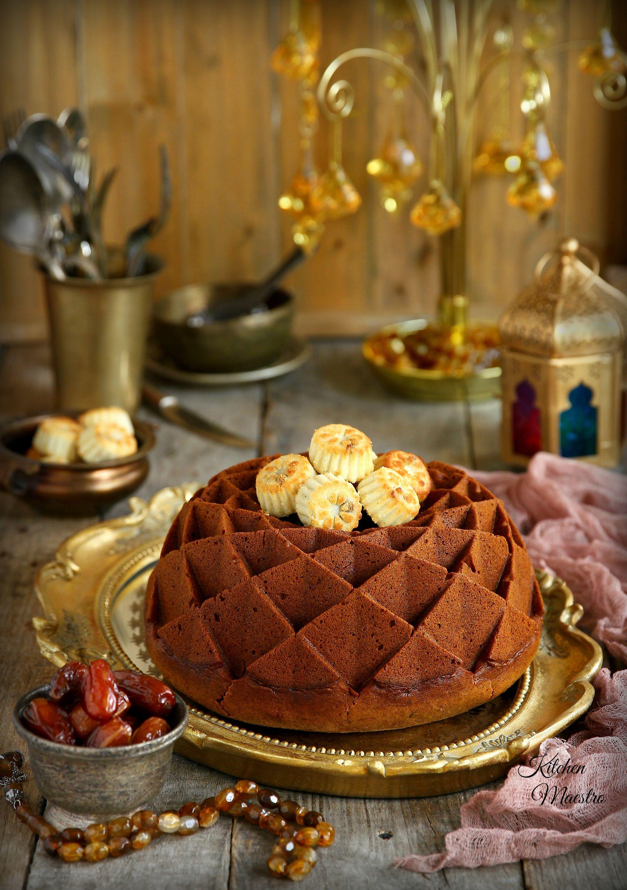 Date Cake كيكة التمر Middle Eastern Desserts Date Cake Cake