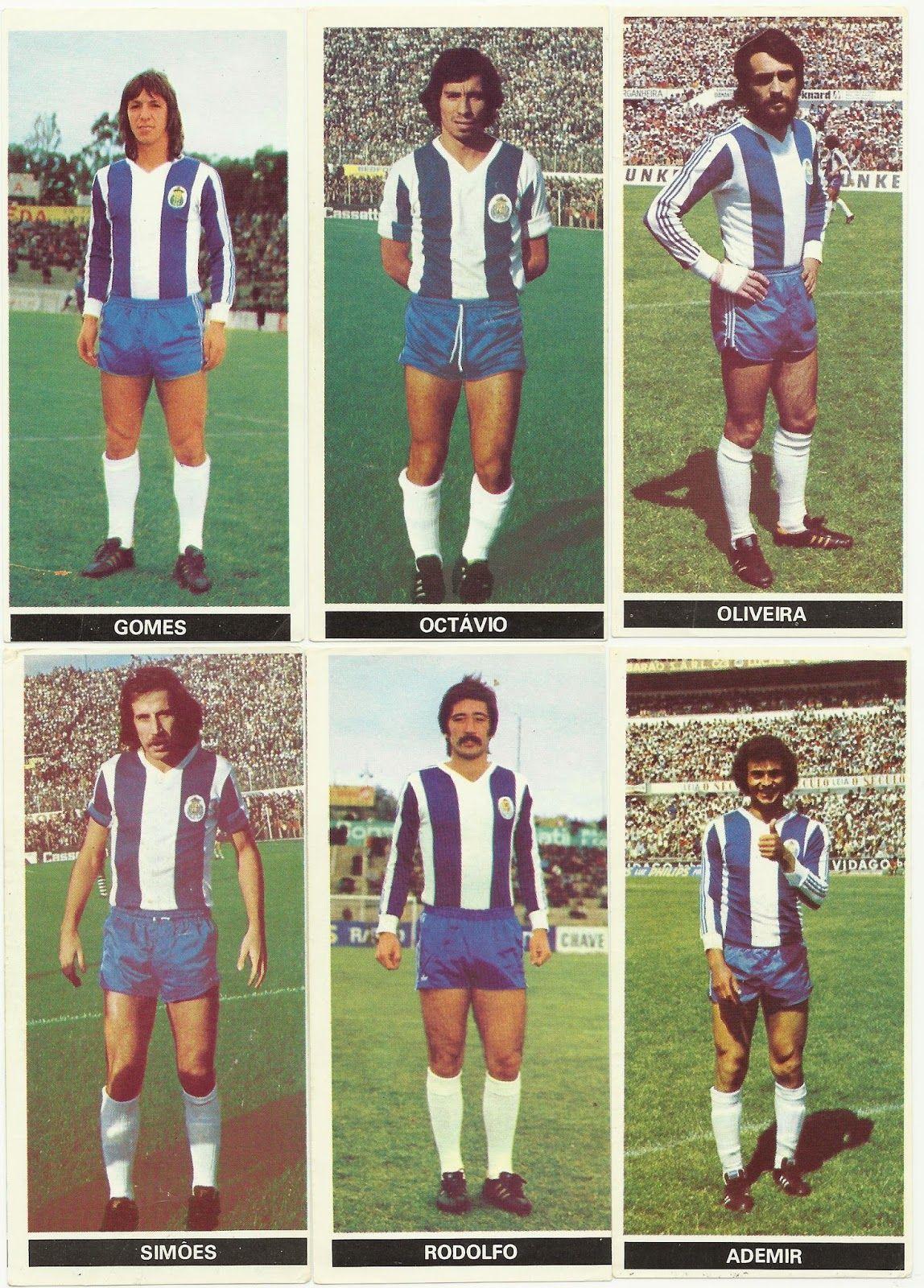 Cromos De Uma Coleccao Dos Anos 70 Jogadores Do F C Porto Futebol Clube Do Porto Futebol Clube