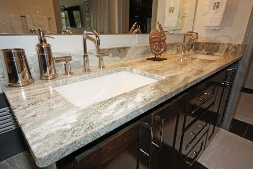 From Our Project On Hanover Fantasy Brown Granite