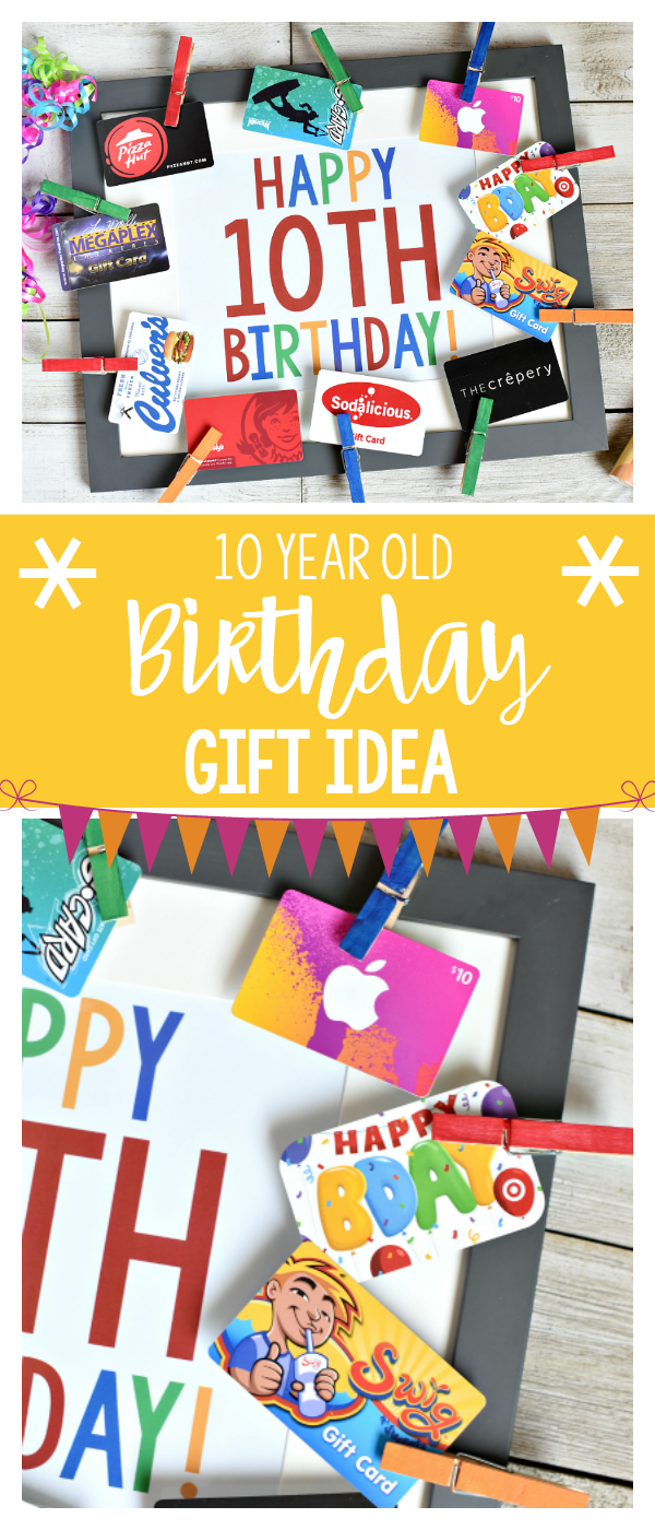 Fun Birthday Gift Idea For 10 Year Old Boys Or Girls Birthdays Birthdaygifts Birthdaypresent