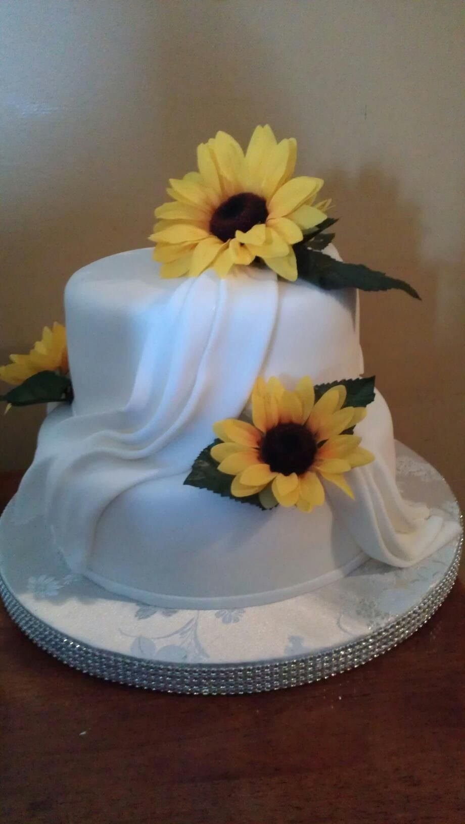 Sunflower Bridal Shower Cake Cakes And Confections