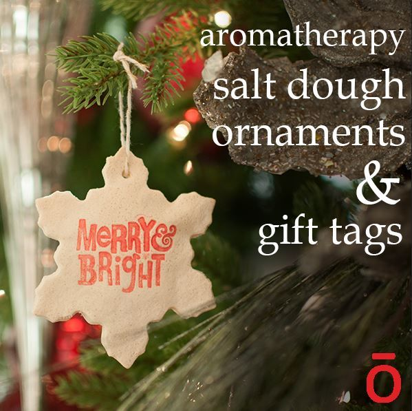 DIY AROMATHERAPY ORNAMENTS..using Your Favorite