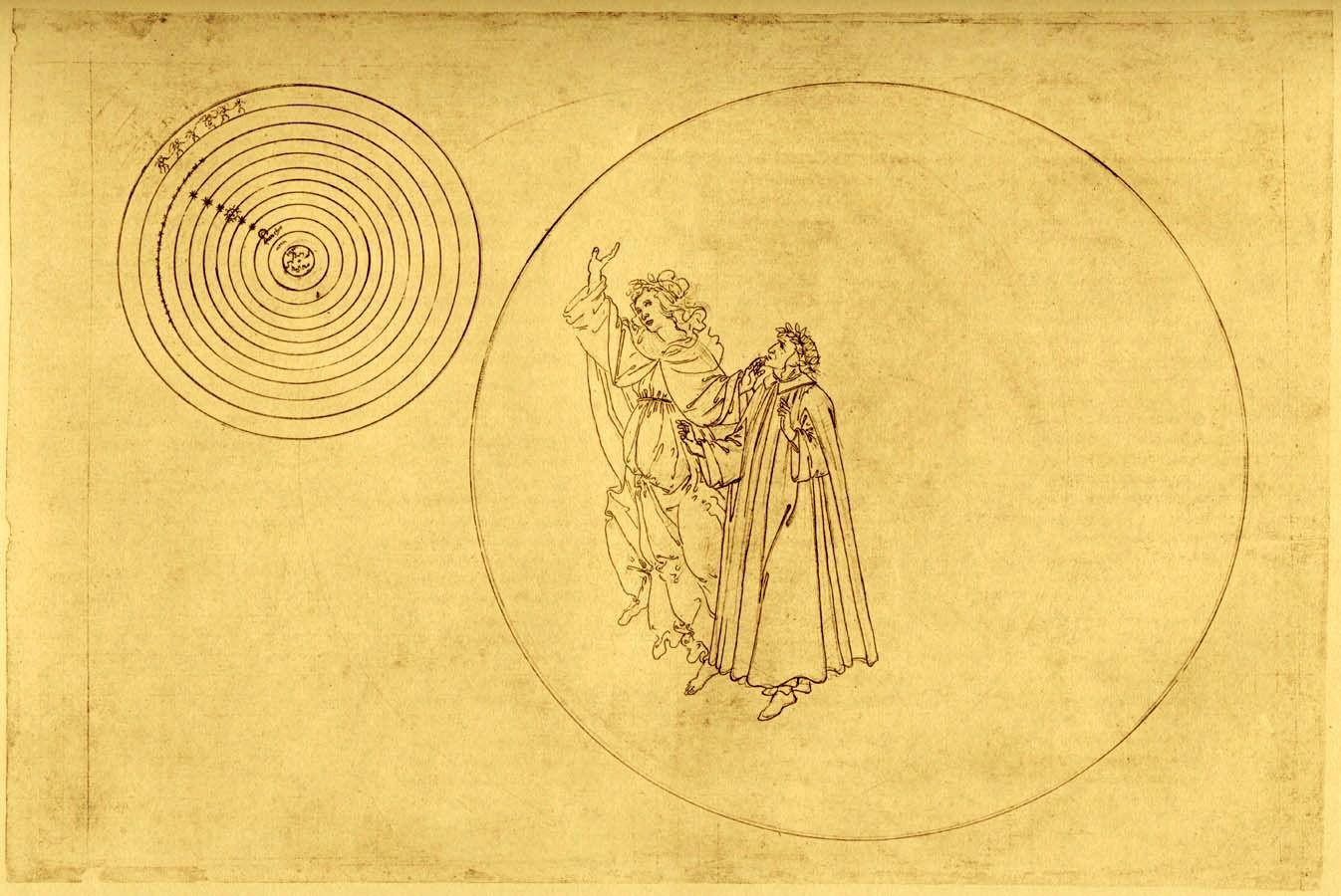 Botticelli, Beatrice and Dante enter Paradise | Botticelli, Sandro ...