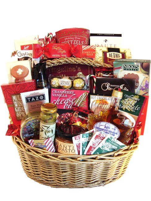 Gift Baskets Canada Extravagant Christmas