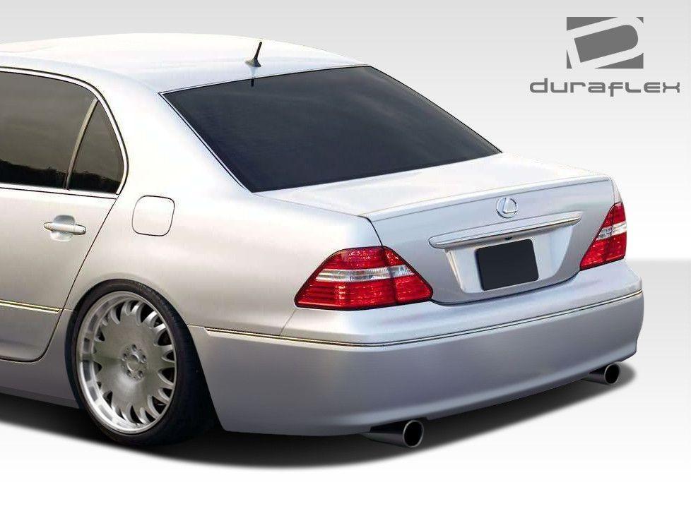 2004-2006 Lexus LS Series LS430 Duraflex VIP Rear Bumper Cover - 1 Piece