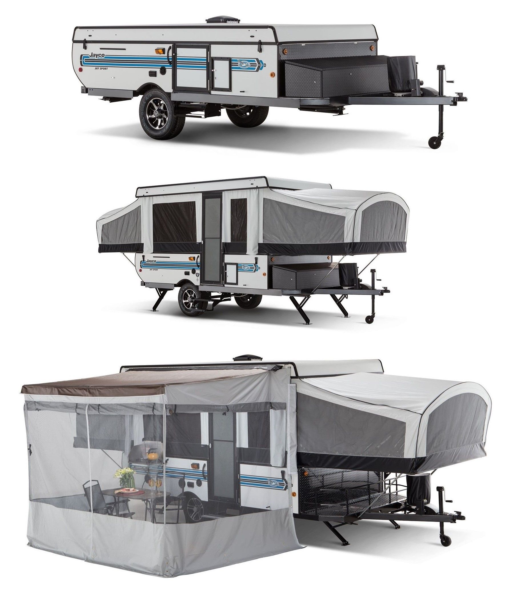 Travel Campers: Jayco Camper Trailer, Jayco