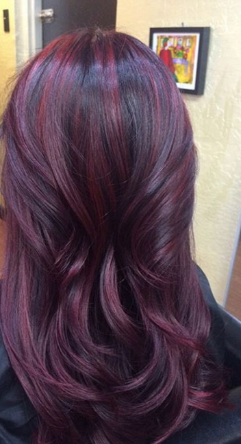 Introducing Cherry Bombre The New Trend For Brunettes Fall Hair Color For Brunettes Brunette Hair Color Hair Color Plum