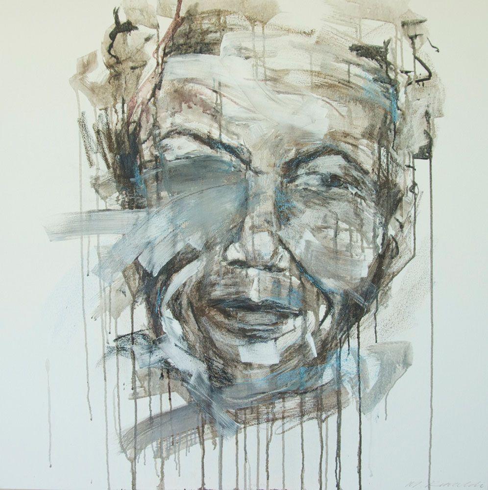 Guilt Of Ignorance: Icon - Painting by Michaela Rinaldi | StateoftheArt.co.za