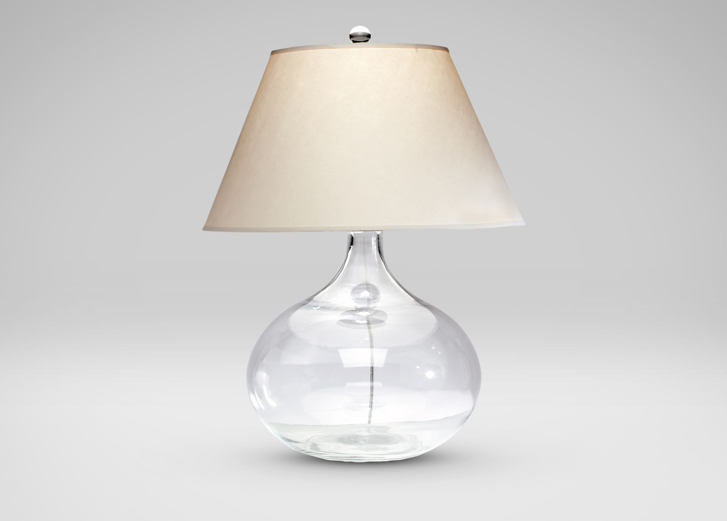 Clear Glass Table Lamp Table Lamps Lighting Clear Glass Table