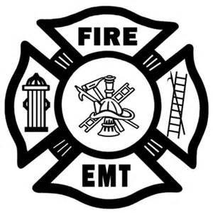 Fire Department Fire Rescue Punisher Sticker Decal EMS EMT 911 Fire Fighter USA