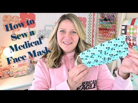 Photo of How to SEW a Medical FACE MASK // TUTORIAL