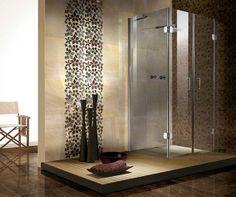 Pincarol Von Stubbe On Yakima Guest Bath  Pinterest  Small Amusing Mosaic Feature Tiles Bathroom Design Inspiration