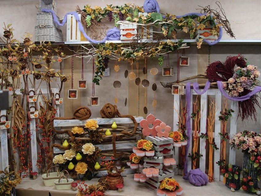 Idee vetrina autunno accessori e oggettistica per for Oggettistica fai da te per casa